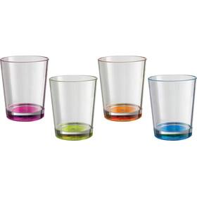 Brunner Multiglass Color Drinking Glass Set